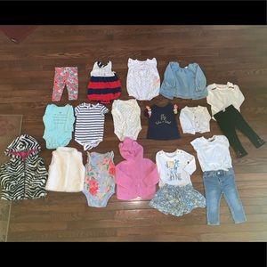Baby girls clothing lot